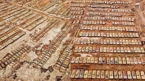 Descubren una base soviética olvidada con más de 1000 tanques abandonados