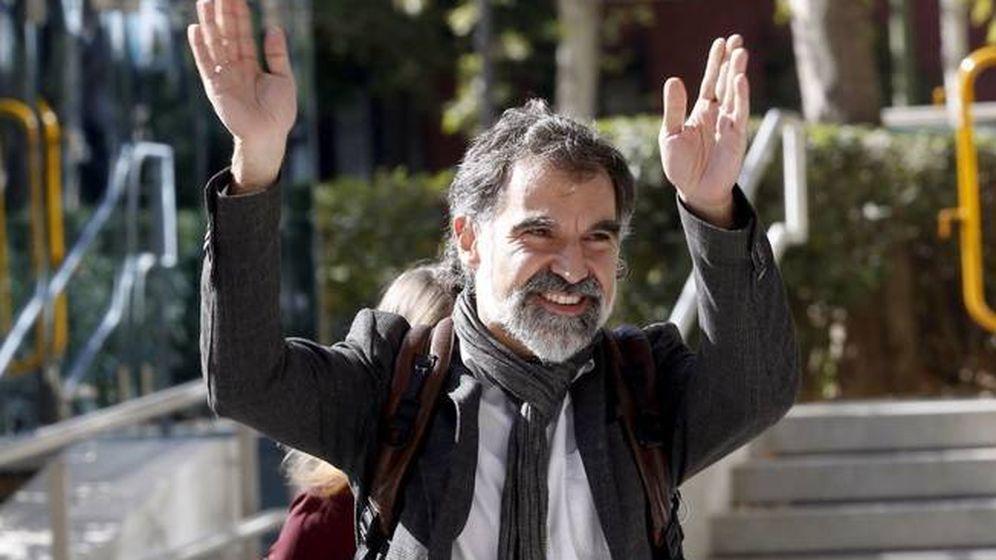 Foto: El líder de Òmnium Cultural, Jordi Cuixart.