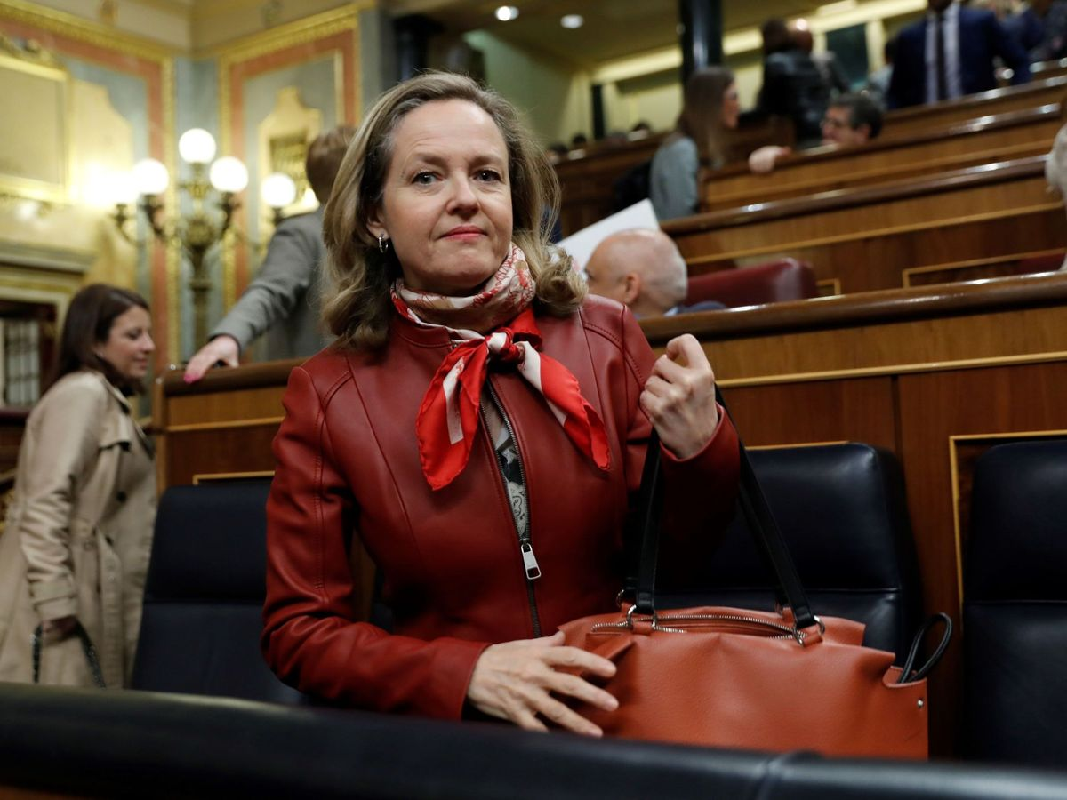 Foto: La vicepresidenta de Asuntos Económicos, Nadia Calviño (EFE)