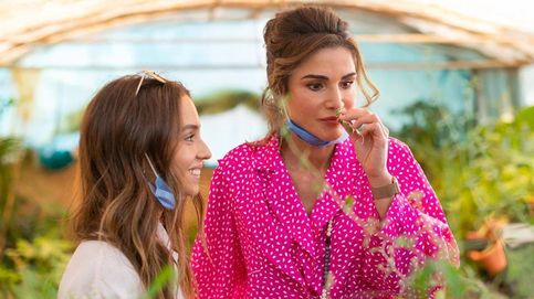 Rania se rinde ante la marca más poderosa del mundo con un look trendy