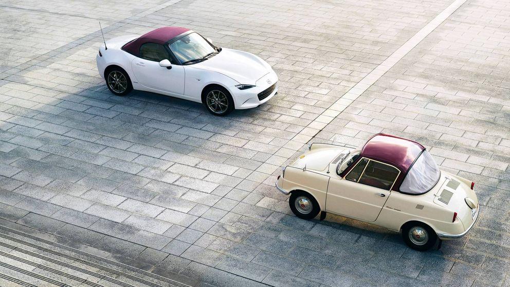 Mazda 100 Aniversario: rojo y blanco como homenaje al R360 coupé de 1960