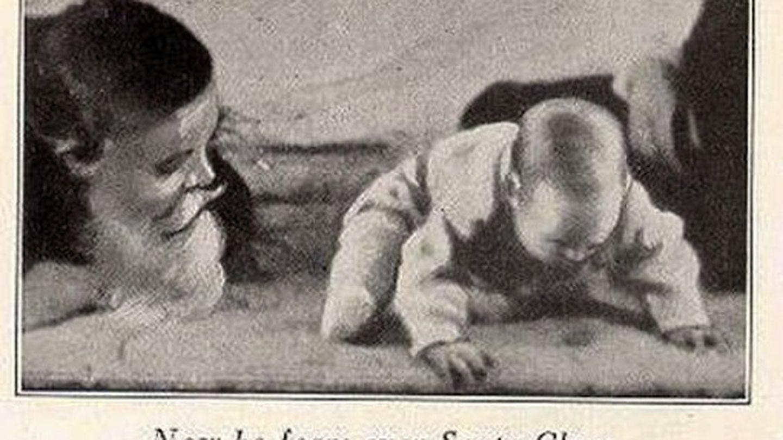 Una de las fases del experimento del pequeño Alberto.