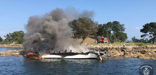 Post de Fallece uno de los heridos en el incendio del catamarán de O Grove (Pontevedra)