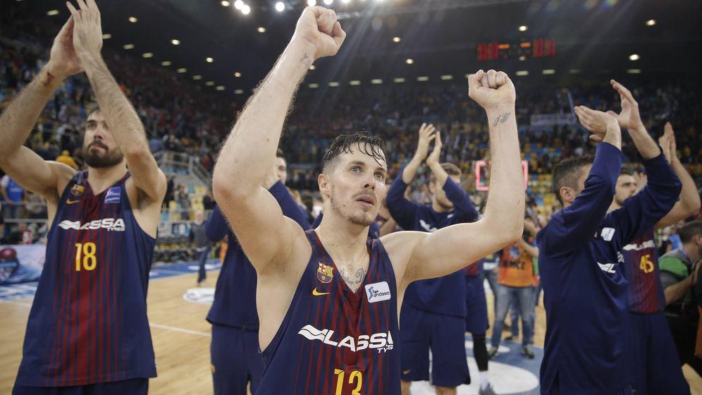 Foto: Con 20 puntos y 9 asistencias, Thomas Heurtel fue el mejor del FC Barcelona Lassa en el triunfo ante el Bakonia. (ACB Photo)