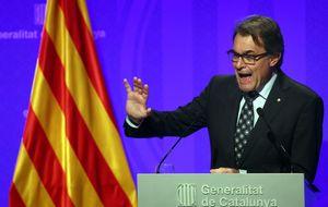 Mas denunciará a Rajoy en España y la ANC, ante la UE y la ONU