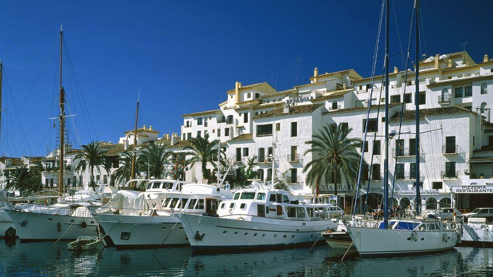 Foto: Puerto Banús, en Marbella. (Corbis)
