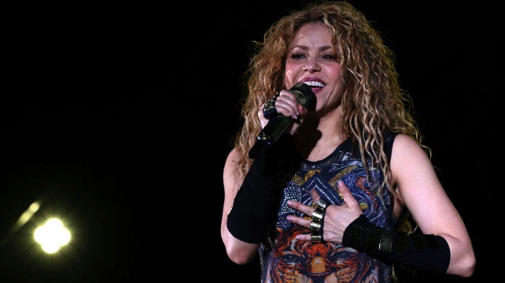Foto: La cantante Shakira durante un concierto el pasado julio. (EFE)
