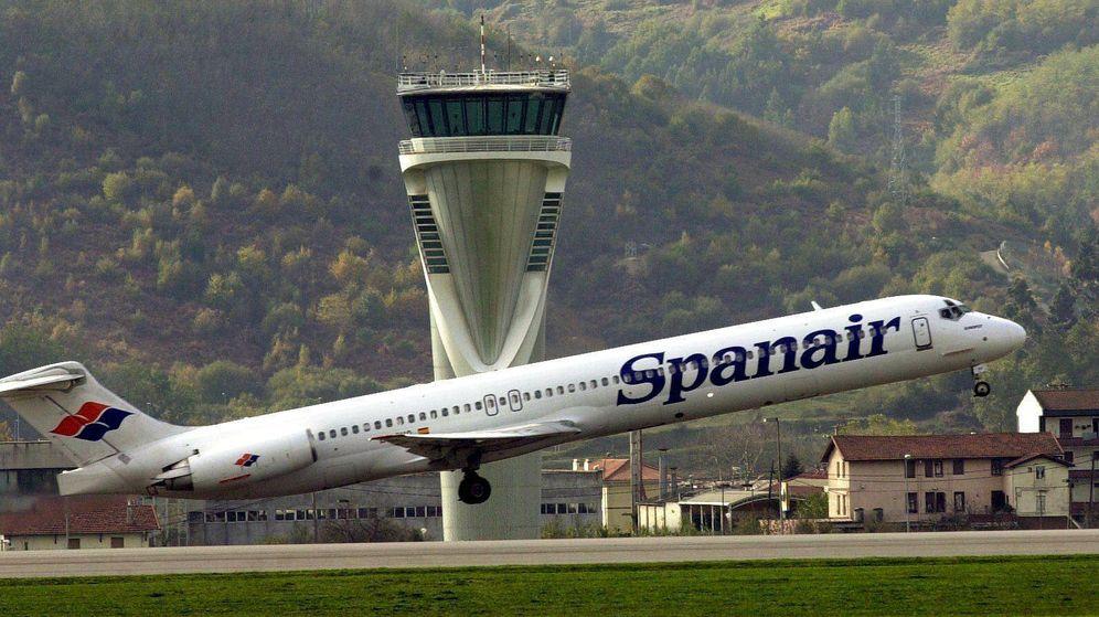 Foto: Imagen de un avión de Spanair. (EFE)