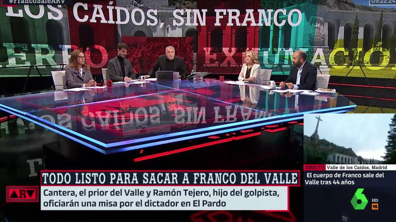 Antonio García Ferreras, en 'Al rojo vivo'. (Atresmedia)