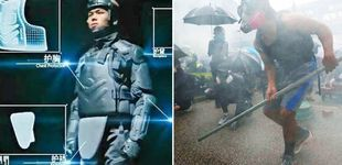 Post de ¿Robocop? Así es la nueva coraza 'made in China' de los antidisturbios de Hong Kong