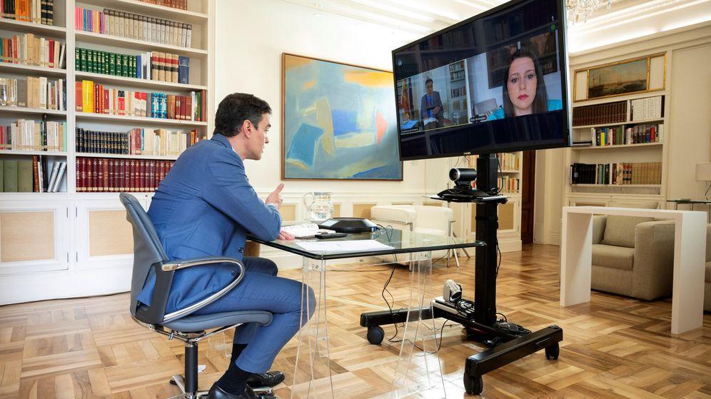 Foto: Pedro Sánchez e Inés Arrimadas. (EFE)