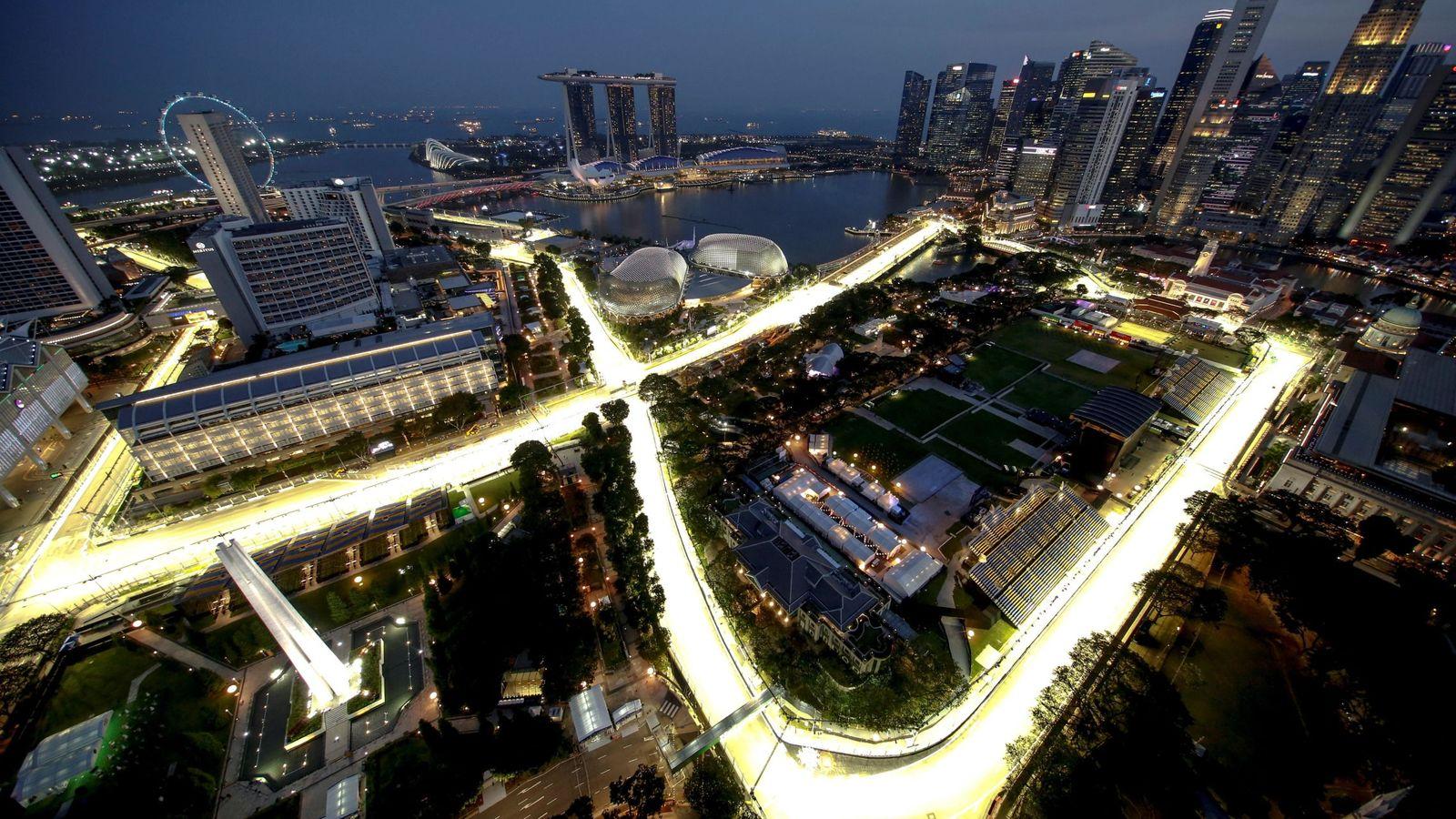 Circuito Singapur : Fórmula 1: gp singapur de f1 2018: horario y dónde ver la carrera