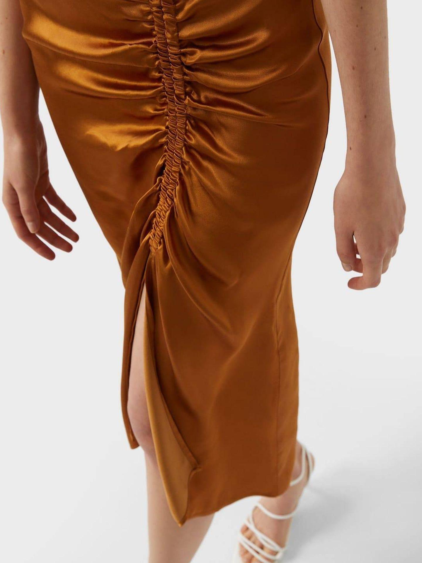 La falda de Stradivarius. (Cortesía)