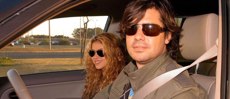 Foto: Antonio de la Rúa y Shakira en una imagen de archivo (Gtres)