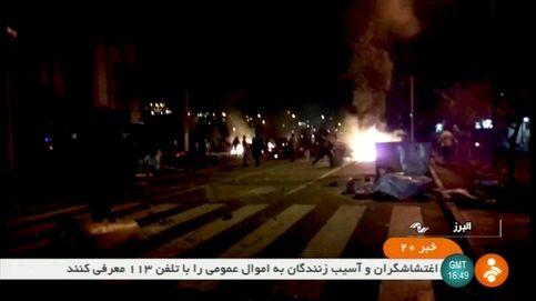 Los muertos en las protestas en Irán suben a 20 en medio de ataques a comisarías