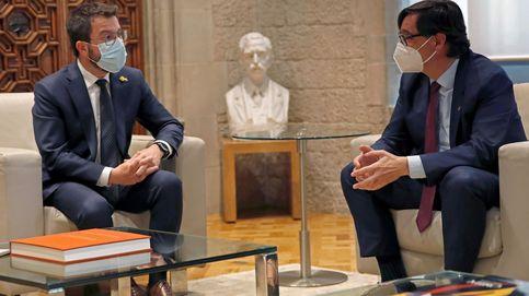 Illa ve a Aragonès receptivo ante sus propuestas y lamenta que no vaya a la cena con el Rey