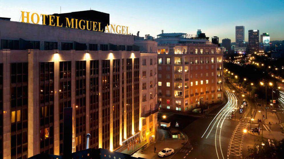 Foto: Panorámica del hotel Miguel Ángel by BlueBay, sobre el Paseo de la Castellana