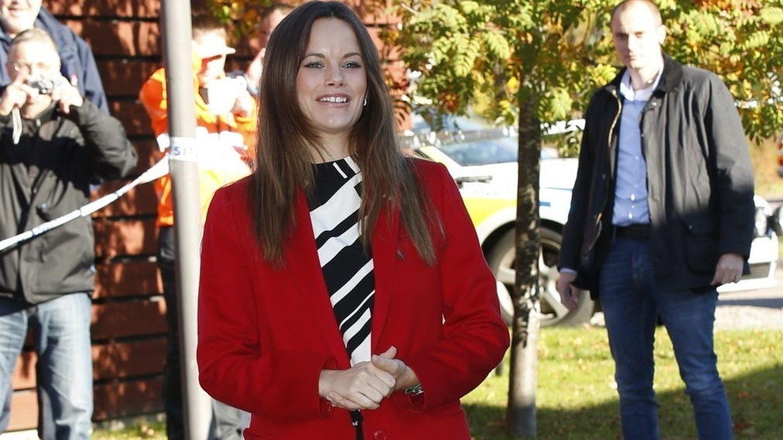 Foto: La princesa Sofía, durante su visita a Dalarna (Gtres)