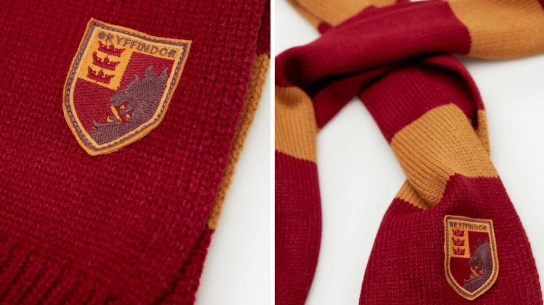 Bufanda de Harry Potter de Springfiel. (Cortesía)