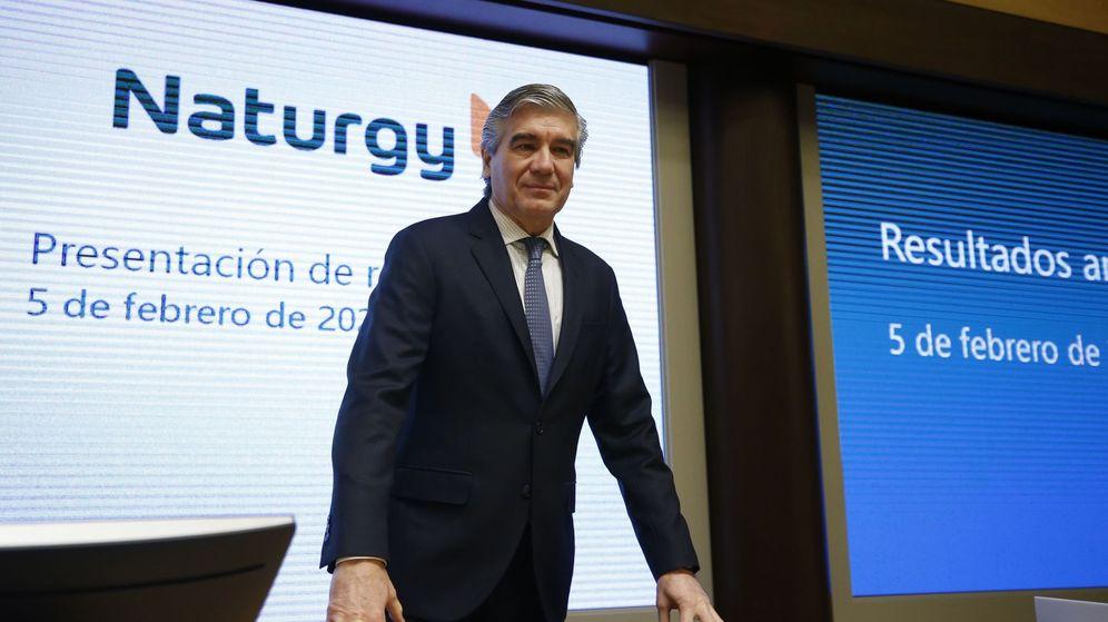 Foto: El presidente ejecutivo de Naturgy, Francisco Reynés, en un acto de la compañía. (EFE)