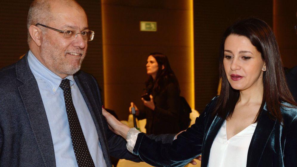 Foto: La presidenta y portavoz del Grupo de Ciudadanos en el Congreso de los Diputados, Inés Arrimadas. (EFE)