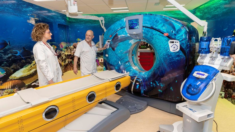 Foto: No todos los hospitales cuentan con la tecnología necesaria para atender el cáncer en los niños (EFE/Marcial Guillé)