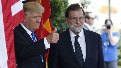 Conferencia de prensa de Mariano Rajoy y Donald Trump