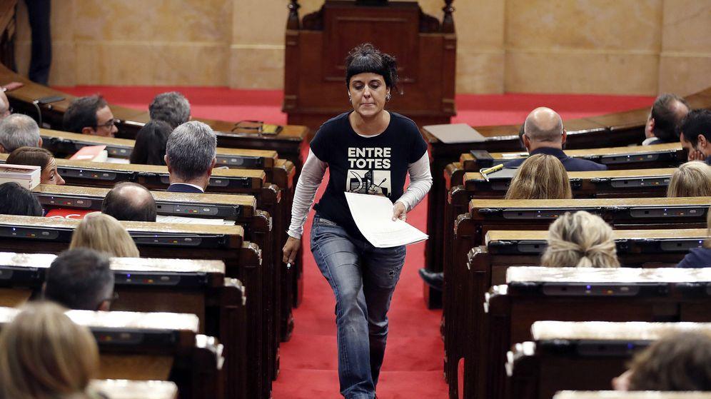 Foto: La exdiputada de la CUP Anna Gabriel. (EFE)