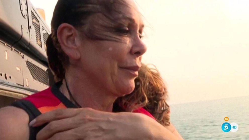 Jorge Javier provoca las primeras lágrimas a Pantoja en 'Supervivientes'