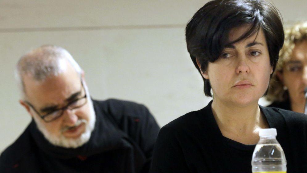 Foto: Rosario Porto principal acusada junto a su ex marido Alfonso Basterra. (EFE)