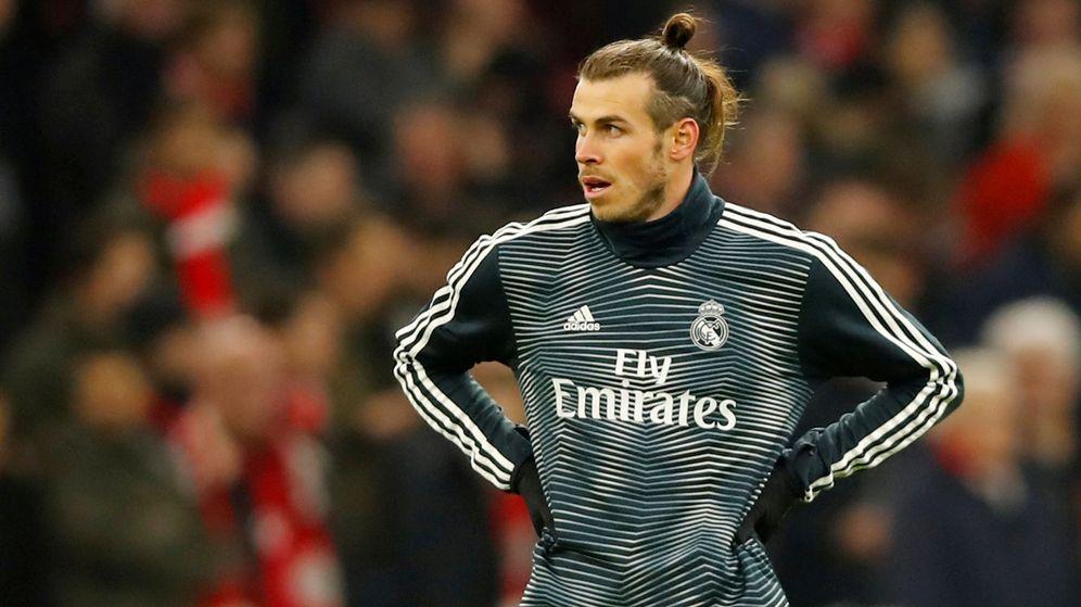 Foto: Gareth Bale durante un calentamiento en un partido del Real Madrid. (Reuters)