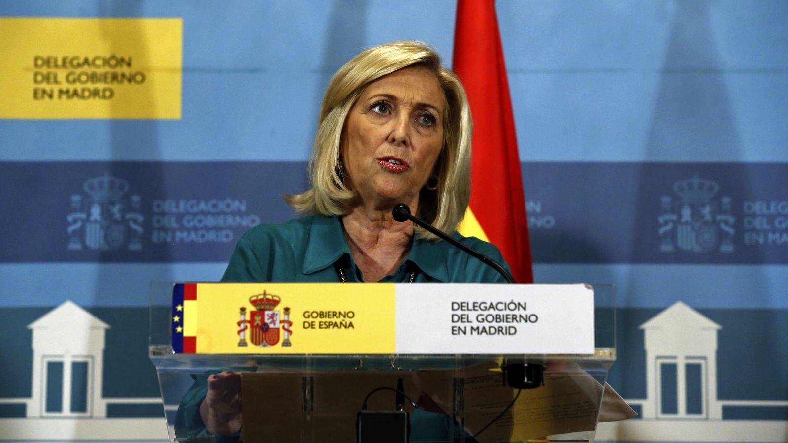 Foto: La delegada del Gobierno en Madrid, Concepción Dancausa. (EFE)
