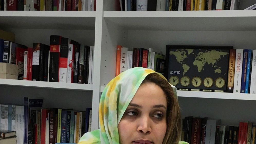 Foto: La saharaui Nezha al Khalidi. (EFE)