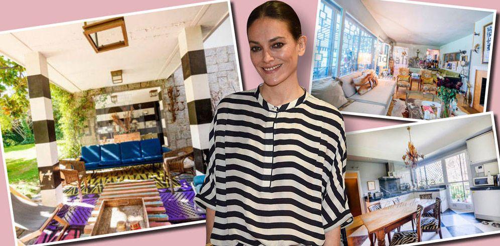 Foto: Laura Ponte con su casa que vende por 1,7 millones en Idealista. (Vanitatis)