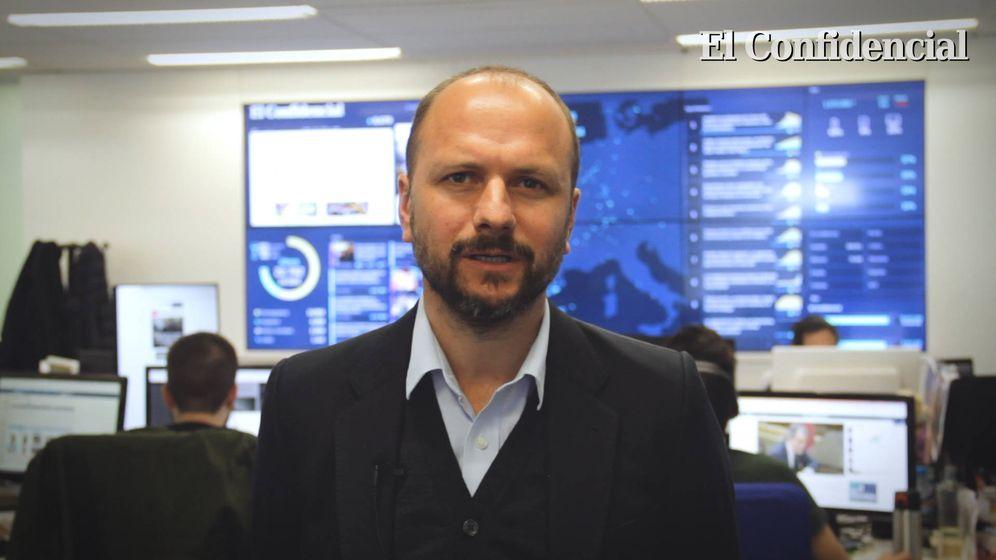 Foto: El periodista de El Confidencial, Roberto R. Ballesteros. (EC)