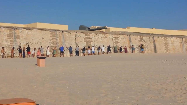Foto: Imagen del encuentro que el grupo de Ángel Lara llevó a cabo en una playa.
