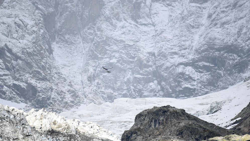 Foto: El glaciar que se está derritiendo. (Reuters)
