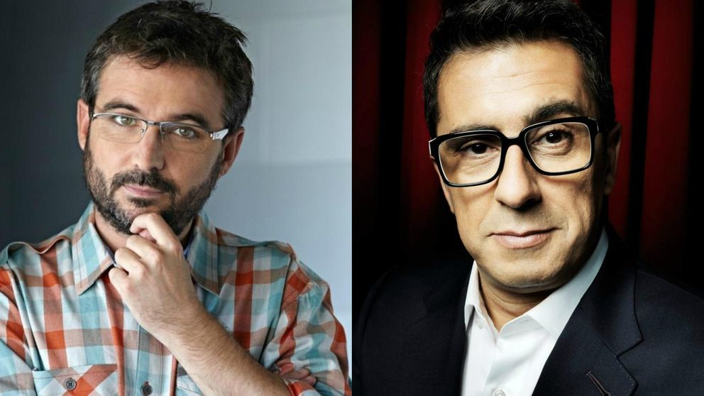 La separación definitiva (pero amistosa) entre Jordi Évole y Buenafuente