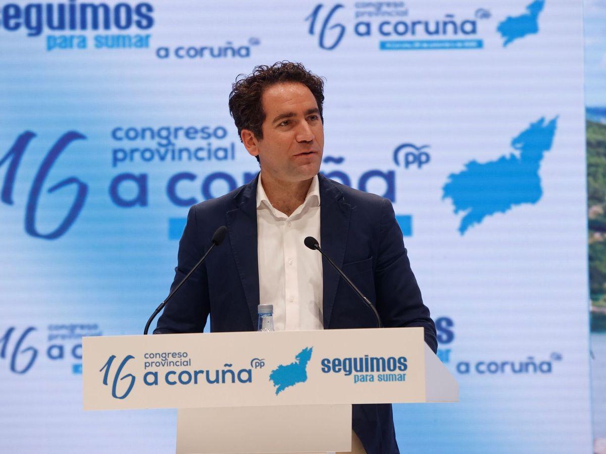 Foto: Teodoro García Efea, esta mañana en A Coruña. (EFE)