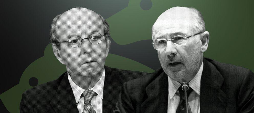 Foto: Spottorno a Rato sobre Bankia: ¡Que sepas que esto va a estallar tarde o temprano!