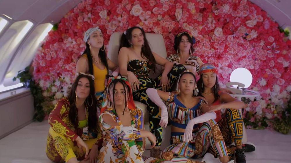 Foto: Fotograma del videoclip de 'Con Altura' (Rosalía y J Balvin)