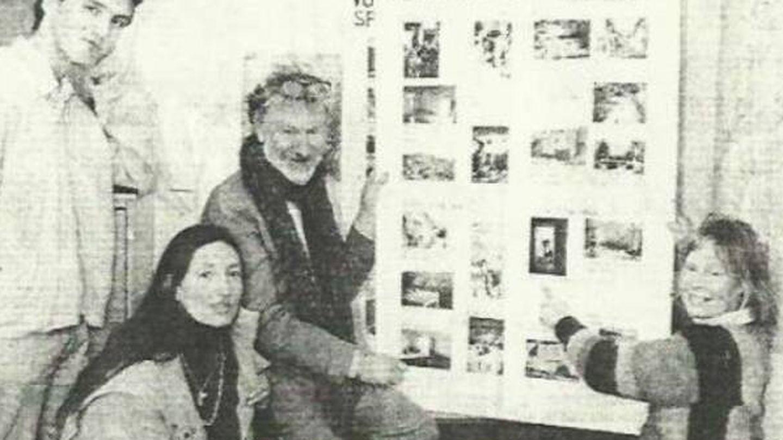 Harry Hart, el cofundador de Sunseed Desert Technology en 1982. Foto: Sunseed Desert Technology