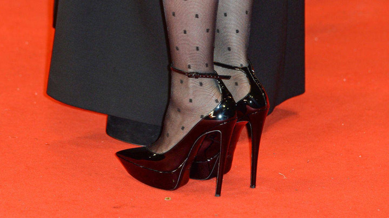 Los zapatos que ha lucido para la ocasión Charlotte. (Getty)