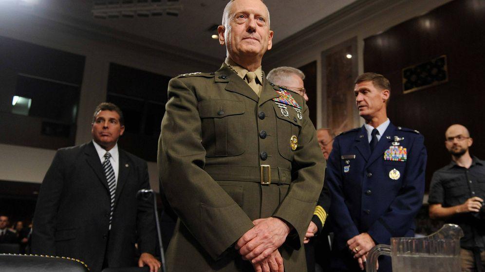 Foto: El que fuera general del Cuerpo de Marina de los EEUU, James Mattis. (Efe)
