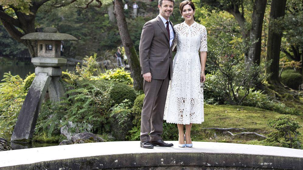 Foto:  Los herederos daneses en Japón. (Gtres)