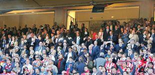 Post de Palco del Atleti: Guindos, Zoido... y el letrado de Marjaliza junto al consejero de Justicia