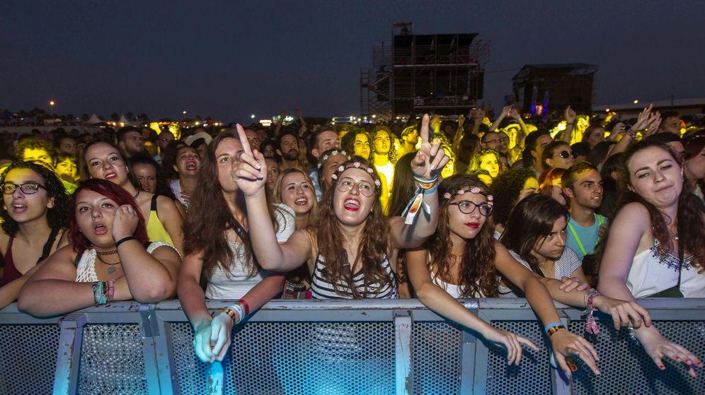 Foto: Arenal Sound en 2015: el festival de Burriana (Castellón) pende de un hilo