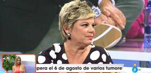 Post de Terelu Campos se rompe en 'Viva la vida' tras las críticas por la venta de su tríplex