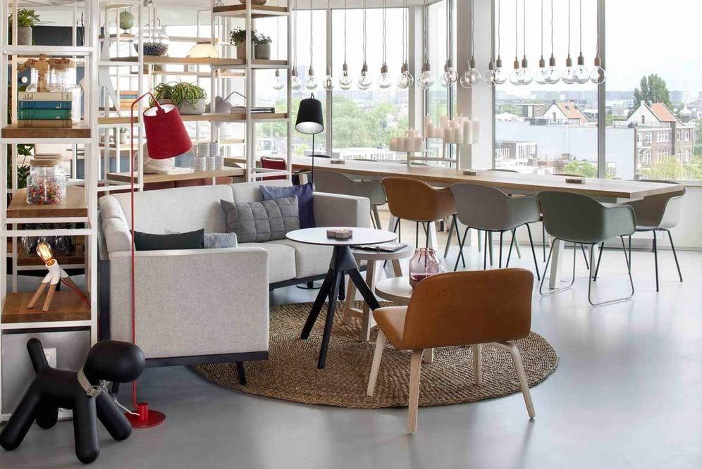 Foto: Zoku, en Ámsterdam, otra forma de alojarse: en un loft y con vistas.
