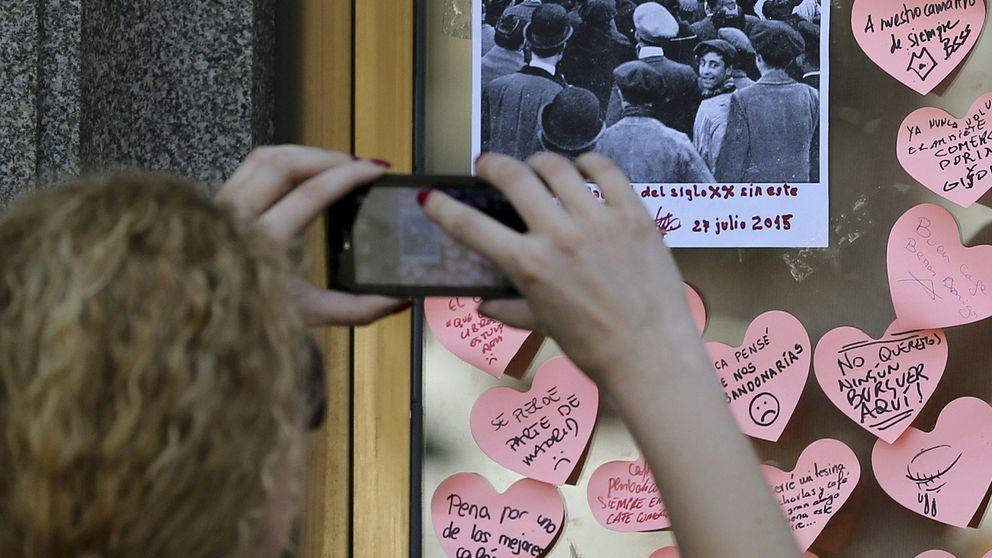 En imágenes: Madrid dice adiós al Café Comercial